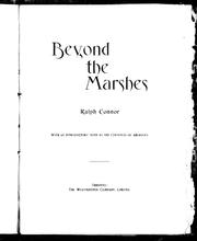 Cover of: Beyond the marshes | Ralph Connor