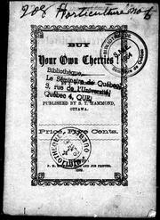 Cover of: Buy your own cherries! | J. W. Kirton