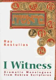 Cover of: I witness