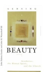 Cover of: Sensing beauty