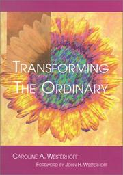 Cover of: Transforming the Ordinary