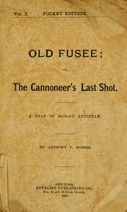 Cover of: Old Fussee | Anthony P. Morris