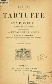 Cover of: Tartuffe by Molière