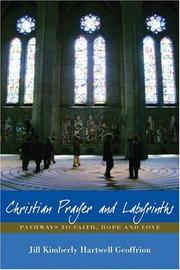 Cover of: Christian prayer and labyrinths