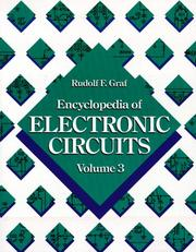 Cover of: The Encyclopedia of Electronic Circuits, Volume 3