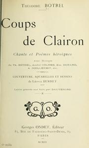 Cover of: Coups de clairon