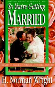 Cover of: So You're Getting Married