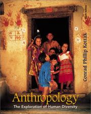 Cover of: Anthropology: the exploration of human diversity