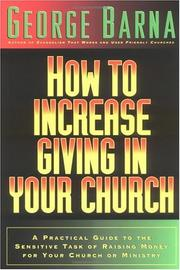 Cover of: How to increase giving in your church