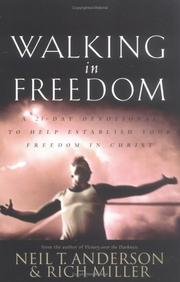 Cover of: Walking in freedom