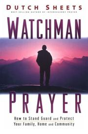 Cover of: Watchman Prayer | Dutch Sheets