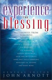 Cover of: Experience the Blessing | John Arnott