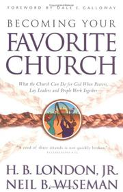 Cover of: Becoming your favorite church
