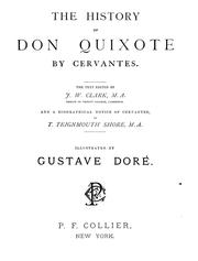 Cover of: The history of Don Quixote | Miguel de Cervantes Saavedra