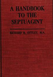 Cover of: A handbook to the Septuagint