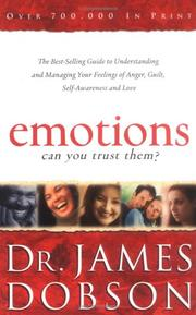 Cover of: Emotions: Can You Trust Them