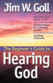 Cover of: The BeginnerÆs Guide to Hearing God