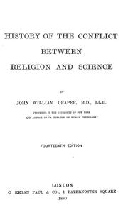 Cover of: History of the conflict between religion and science