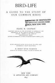 Cover of: Bird-life : a guide to the study of our common birds | Frank M. Chapman