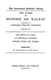Cover of: The works of Honoré de Balzac | HonorГ© de Balzac