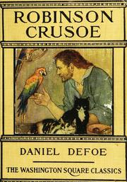 Cover of: Robinson Crusoe by Daniel Defoe