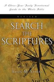 Cover of: Search the Scriptures: A Study Guide to the Bible  | Alan M. Stibbs