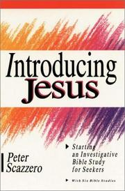 Cover of: Introducing Jesus | Peter Scazzero