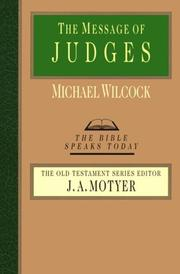 Cover of: The Message of Judges | Michael Wilcock