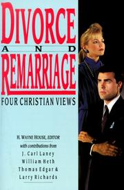 Cover of: Divorce and Remarriage