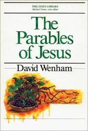 Cover of: The parables of Jesus