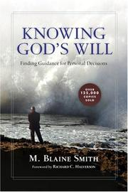 Cover of: Knowing God's will