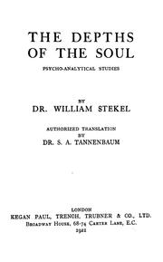 Cover of: The depths of the soul