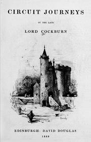 Cover of: Circuit journeys | Cockburn, Henry Cockburn Lord