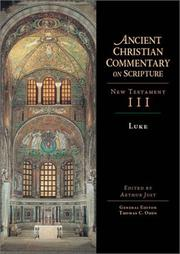 Cover of: Luke (Ancient Christian Commentary on Scripture)