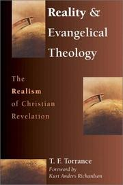 Cover of: Reality & evangelical theology