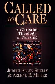Cover of: Called to Care | Judith Allen Shelly