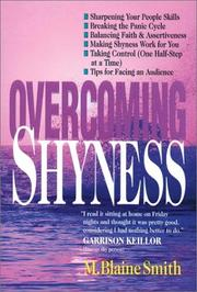 Cover of: Overcoming shyness