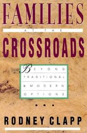 Cover of: Families at the crossroads