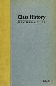 Cover of: The Class of Fifty-eight | Lyster Miller O