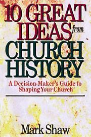 Cover of: 10 great ideas from church history