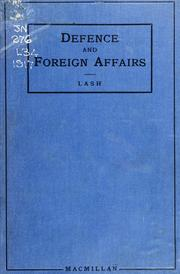 Cover of: Defence and foreign affairs