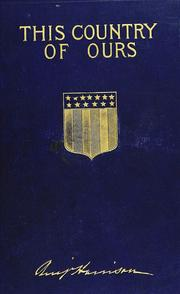 Cover of: This country of ours