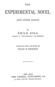 Emile zola essays on naturalism