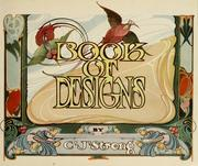 Cover of: Strong's book of designs by Charles Jay Strong
