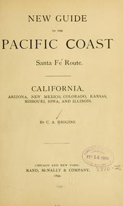 Cover of: New guide to the Pacific coast | C. A. Higgins