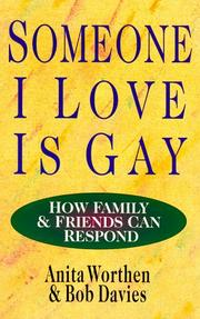 Cover of: Someone I love is gay