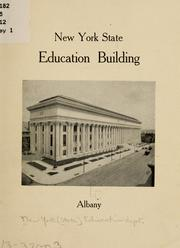 Cover of: New York state education building, Albany. | New York (State) Education dept