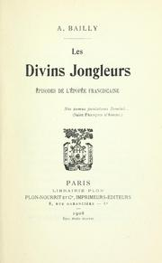 Cover of: Les divins jongleurs