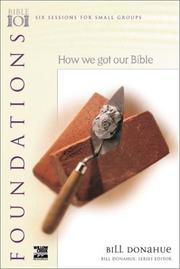 Cover of: How we got our Bible | Bill Donahue
