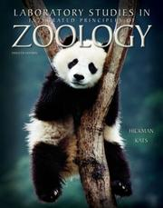 Cover of: Laboratory Studies in Integrated Principles of Zoology | Cleveland P. Hickman, Jr.